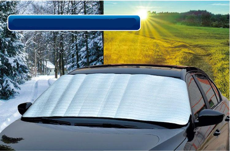 Car Window Windshield Visor Auto Sun Shade Cover Foil 70 150 Cm Front Rear Windshield Foil