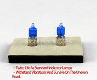 Wholesale XENCN H6W V6W K Blue Diamond Light Car Warning Bulbs Halogen Flasher Lamp