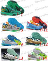 Free shipping Basketball Shoes KD VI 6 Kevin Durant Athletic...