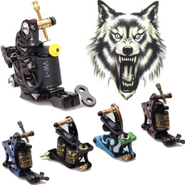 Wholesale 2014 HOT Pro Wrap Coils Tattoo Machine Gun Shader Liner