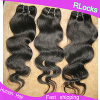 Wholesale Rosalocks great quality processed remy Brazilian human hair wavy texture B Cheap Weaves online