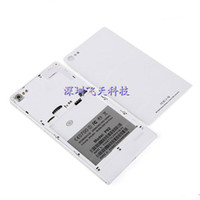 For Chinese Brand Plastic White Original battery cover for Star Ulefone P92 MTK6592 Octa Core 6.0Inch IPS FHD 1920x1080 Screen Smart Phone-free shipping