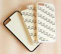 sublimation printing - For iPhone sublimation printing phone case with blank aluminium insert DHL Fedex