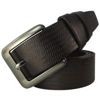 Wholesale Men belts High quality artificial leather Brand designer colors Cinturon Fashion pin buckel L3021 New arrival