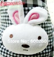 Wholesale Rabbit head Plaid cashmere coat Pet clothes