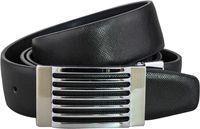 Wholesale Genuine leather belts for men Business male Fashion Belt Automatic Buckle double faced cowhide belt MZ008 Cintos cinturon