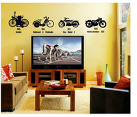 bicycle room - The fifth generation Sticker Art Decals Wall Home Decor Personality bicycle Home Decors DIY Removable cm