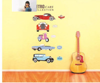 Wholesale Lovely bedroom background decoration stickers TV setting bed room Sticker Art Decals Wall Home Decors Cartoon cute children room cm