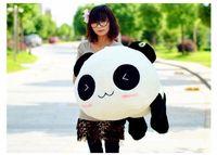 Cheap High Qualityfree shipping huge Bolster Pillow Plush Toy Stuffed Animal Cute Panda Gift 70cm Gift