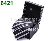 Cheap Wholesale-Top Brand 2014 New Design Men's Necktie Silk Bowtie Brand Tie for Men Match with Suit Dress Shirts
