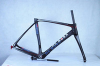 Wholesale 2014 black color DE ROSA Nuova King RS Action Stealth Road Bicycle Carbon Frames Italy Quality bike Racing Carbon Frameset SUPERKING C