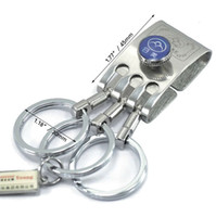 belt clip holder - NEW RiMei Key Chain Key Holder Removable Ring Metal Belt Clip B8801
