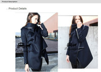 Fashion denim jacket - Fashion Womens Slim WOOL Warm Long Coat Jacket Trench Windbreaker Parka Outwear WAF