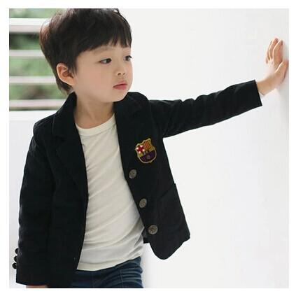 Cool Boys College Wind Leisure Suit Jacket Single Breasted Suit