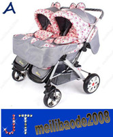 stroller baby - Twins Stroller Baby portable pram prams baby Travel carriage buggy baby strollers HSA1040