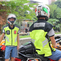 Wholesale Motorcycle riding equipment riding vest reflective vest reflective vests motorcycle clothing motorcycle vest