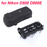 Wholesale Hot Sale Magnesium Alloy Camera Vertical Battery Grip Holder for Nikon D800 D800E DSLR