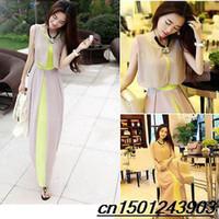 Cheap 2014 brand new hot Sexy Women Summer Boho Maxi Dress sleeveless Beach casual Dresses free shipping