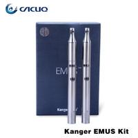 slim - Kanger Emus Starter Kit E Cig Stainless Steel Material Twist Slim Shape Original Emus Kit High Quality E Cigarette