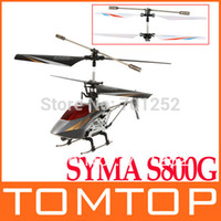 Wholesale New SYMA S800G CH Infrared RC Helicopter D Full Function dropshipping
