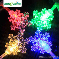 Wholesale flashing lamp Multicolour LED String Light small snow light m m m Decoration Light for Christmas Party Wedding