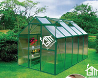Wholesale 2015 New Hobby Aluminum Greenhouse Popular Series GM31025 G Green Color Years Warranty Best Price