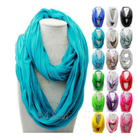 plain jerseys - Infinity Scarves Jersey Cotton Scarf Pure Color Neckerchief Unisex Scarf Colors Autumn Winter Inch x Inch CM X CM