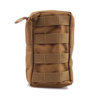 Wholesale Tactical MOLLE PALS Modular Utility Pouch Magazine Mag Accessory Medic Tool Bag Coyote Tan OT0032