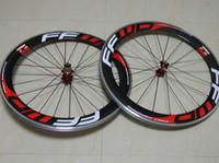 aluminum or carbon road bike - Newest F6R FFWD popular alloy carbon wheels clincher tubular mm aluminum carbon road bike wheel c bicycle wheelS hubs R13 or R36