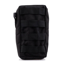 Wholesale Tactical MOLLE PALS Modular Utility Pouch Magazine Mag Accessory Medic Tool Bag Black OT0030
