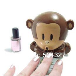 Wholesale Piece Monkey Dryer Blower Portable Blowing Nails Dryer Fingernail Dryer Nail Salons Stoving Implement