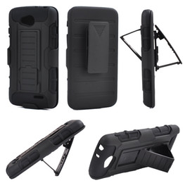 Wholesale For LG L90 Future Armor Impact Hybrid Hard Case Cover Belt Clip Holster Kickstand Combo