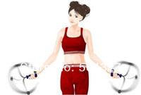 Wholesale Pairs Wireless Rope less Diet Jump Jumping Rope Skipping Calorie Counter Exercise