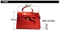 Wholesale Handbag Hot Style Women s Red Black Tote Designer PU Fashion Girl Bowknot Evening Bag New Style
