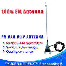 Wholesale New FMUSER CA100 Car FM radio Antenna for FM transmitter radio broadcaster from w high gain dbi MHz adjustable