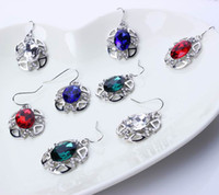 Wholesale Rhinestone Earrings Necklace Jewelry Set For Party Christmas Presents TL9369