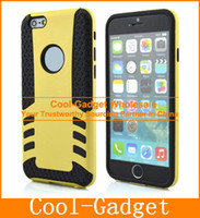 Silicone arrow apple - Fire Arrow Hybrid Shock Proof Rugged Defender Armor Case Cover for iPhone G S Plus iPhone6 IP6C66