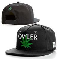 Cheap Luckyhat awesome Black sale Cayler and sons snapback caps hats free shipping TMT the money teams sports caps hats adjustable caps wholesale