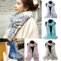 10pcs Hot Sell women' s Ladies Chiffon Soft Scarves Long...