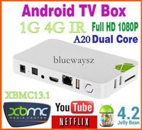 Cheap Allwinner A20 TV BOX XMBC KODI IPTV 1G 4GB Dual Core Cheapest Dual Core Google Tv Player Smart Android A20 TV BOX Dual-Core 10pcs
