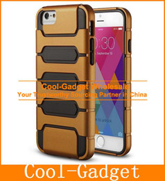 Wholesale Armour plate Anti Shock Hybrid Heavy Duty Slim Tough Armor Case Cover for iPhone G Plus iPhone6 IP6C67