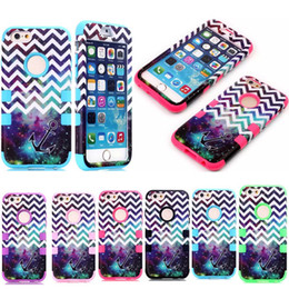 Wholesale Manufacturer Starry Sky Anchor Pattern Mobile Phone Cases For iPhone iphone6 Heavy Duty Durable Shock Proof Waterproof Case Covers