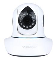 Wholesale T7838WIP P HD IP Camera Plug Play P2P PnP Network Webcam Pan Tilt Wireless Wifi Micro SD Card Indoor Security IR Cut DHL ZKT