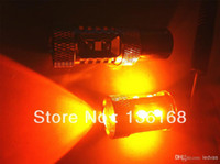Wholesale 50w AMBER CANBUS ERROR FREE CREE PY21W BAU15s offset pins LED CAR TURN SIGNAL LIGHT BULB