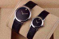Wholesale china post men and women Analog wristwatches fashion leather watches Lovers watch