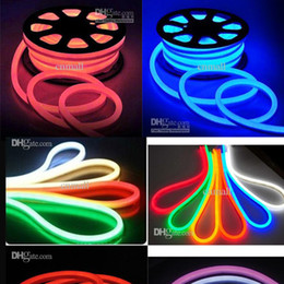 Wholesale New Arrival LED Neon Sign LED Flex Rope Light PVC LED Light LED Strips Indoor Outdoor LED Flex Tube Disco Bar Pub Christmas Party Decoration