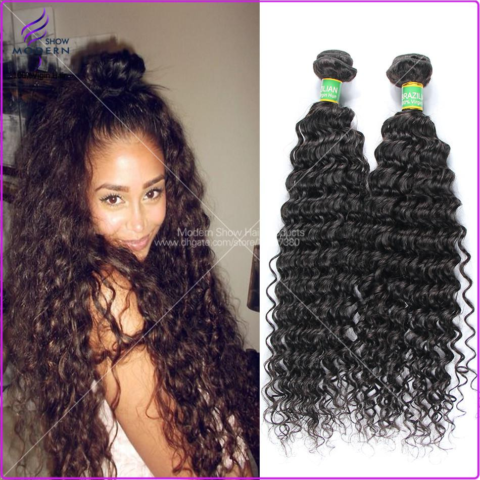 Virgin Brazilian Curly Hair Bundle Deals 81
