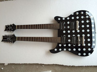 Cheap the same as the pic show double necks guitar Best Solid New 1275 double necks
