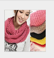 Wholesale Corn scarf scarf collar knitting wool double ring collar