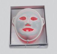 Wholesale 3Colors LED Light Facial Mask Portable Beauty Equipment The Face Red Blue Yellow Face Acne Treatment Skin Spot Skin Facial Spa Salon Care